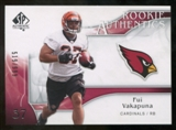 2009 Upper Deck SP Authentic #224 Fui Vakapuna /999