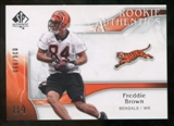 2009 Upper Deck SP Authentic #225 Freddie Brown /999