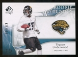 2009 Upper Deck SP Authentic #251 Tiquan Underwood RC /999