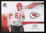 2009 Upper Deck SP Authentic #258 Colin Brown RC /999