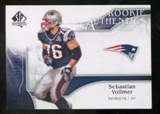 2009 Upper Deck SP Authentic #268 Sebastian Vollmer RC /999