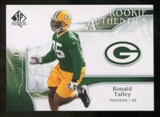 2009 Upper Deck SP Authentic #289 Ronald Talley /999