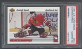 1991/92 Upper Deck #E14 Dominik Hasek Euro-Stars French Rookie PSA 10