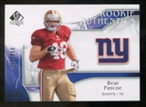 2009 Upper Deck SP Authentic #291 Bear Pascoe /999