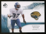 2009 Upper Deck SP Authentic #292 Courtney Greene RC /999