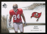 2009 Upper Deck SP Authentic #297 Kyle Moore RC /999