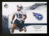 2009 Upper Deck SP Authentic #298 Dominique Edison RC /999