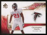 2009 Upper Deck SP Authentic Bronze #204 Christopher Owens /150