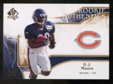 2009 Upper Deck SP Authentic Bronze #219 D.J. Moore /150