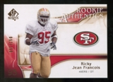2009 Upper Deck SP Authentic Bronze #226 Ricky Jean-Francois /150