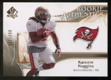 2009 Upper Deck SP Authentic Bronze #237 Kareem Huggins /150