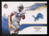2009 Upper Deck SP Authentic Bronze #238 DeAndre Levy /150