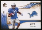 2009 Upper Deck SP Authentic Bronze #240 Aaron Brown /150