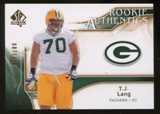 2009 Upper Deck SP Authentic Bronze #241 T.J. Lang /150