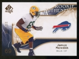 2009 Upper Deck SP Authentic Bronze #242 Jamon Meredith /150