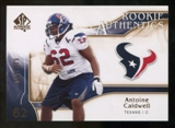 2009 Upper Deck SP Authentic Bronze #244 Antoine Caldwell /150