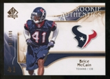 2009 Upper Deck SP Authentic Bronze #247 Brice McCain /150