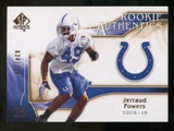 2009 Upper Deck SP Authentic Bronze #248 Jerraud Powers /150
