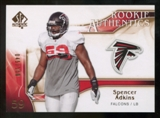 2009 Upper Deck SP Authentic Bronze #263 Spencer Adkins /150