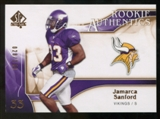 2009 Upper Deck SP Authentic Bronze #266 Jamarca Sanford /150