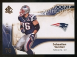 2009 Upper Deck SP Authentic Bronze #268 Sebastian Vollmer /150
