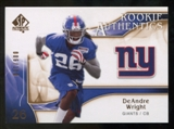 2009 Upper Deck SP Authentic Bronze #272 DeAndre Wright /150
