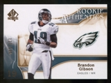 2009 Upper Deck SP Authentic Bronze #280 Brandon Gibson /150