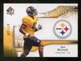 2009 Upper Deck SP Authentic Bronze #282 Joe Burnett /150
