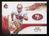 2009 Upper Deck SP Authentic Bronze #290 Scott McKillop /150