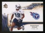 2009 Upper Deck SP Authentic Bronze #298 Dominique Edison /150