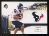 2009 Upper Deck SP Authentic Gold #246 James Casey /50