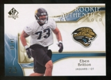 2009 Upper Deck SP Authentic Gold #252 Eben Britton /50