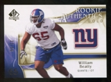 2009 Upper Deck SP Authentic Gold #274 William Beatty /50
