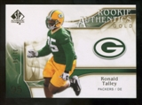 2009 Upper Deck SP Authentic Gold #289 Ronald Talley /50