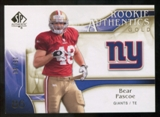 2009 Upper Deck SP Authentic Gold #291 Bear Pascoe /50