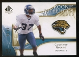 2009 Upper Deck SP Authentic Gold #292 Courtney Greene /50