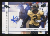 2009 Upper Deck Signature Shots #SSSM Alphonso Smith Autograph