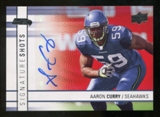2009 Upper Deck Signature Shots #SSAC Aaron Curry Autograph