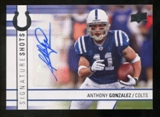 2009 Upper Deck Signature Shots #SSAG Anthony Gonzalez Autograph