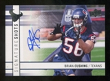 2009 Upper Deck Signature Shots #SSBC Brian Cushing Autograph