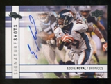 2009 Upper Deck Signature Shots #SSER Eddie Royal Autograph