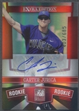 2010 Donruss Elite Extra Edition #199 Carter Jurica Rookie Auto #403/685
