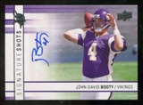 2009 Upper Deck Signature Shots #SSJB John David Booty Autograph