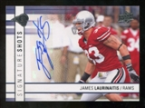 2009 Upper Deck Signature Shots #SSJL James Laurinaitis Autograph
