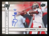 2009 Upper Deck Signature Shots #SSJJ Josh Johnson Autograph