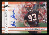 2009 Upper Deck Signature Shots #SSMJ Michael Johnson Autograph