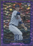 2012 Bowman Draft #5 Drew Smyly Purple Ice Rookie #10/10