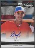 2011 Limited #2 Ronald Guzman International Flair Signatures Rookie Auto #182/499