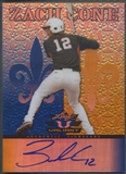 2012 Leaf Valiant #ZC1 Zach Cone Draft Blue Rookie Auto #70/99