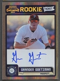 2011 Playoff Contenders #RT38 Granden Goetzman Rookie Ticket Auto